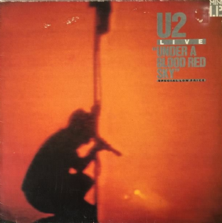U2 ‎- Live: Under A Blood Red Sky (Mini LP) (VG+/G)